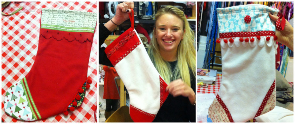 Learnt to sew-Make a Stocking