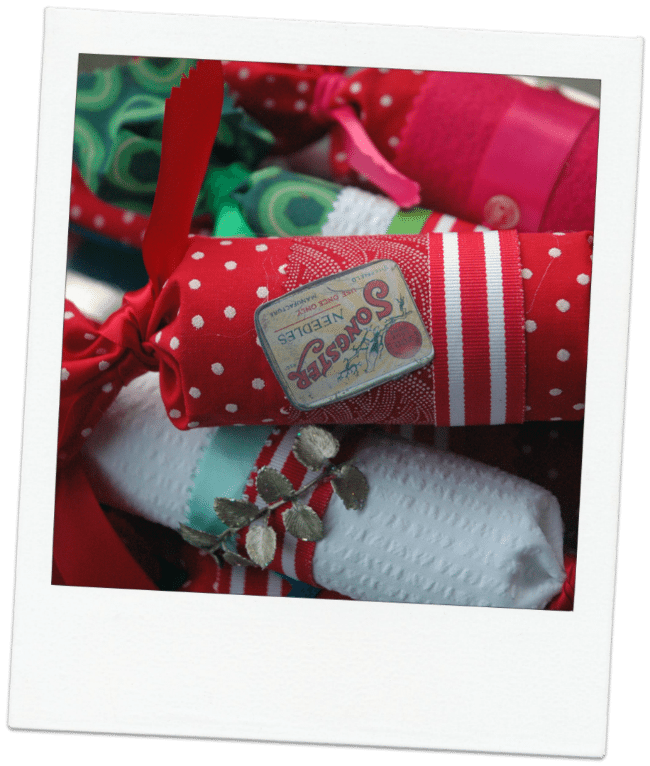 handmade Christmas Crackers