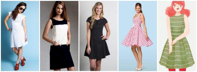 5 of my favourite Summer dress patterns  The Thrifty Stitcher