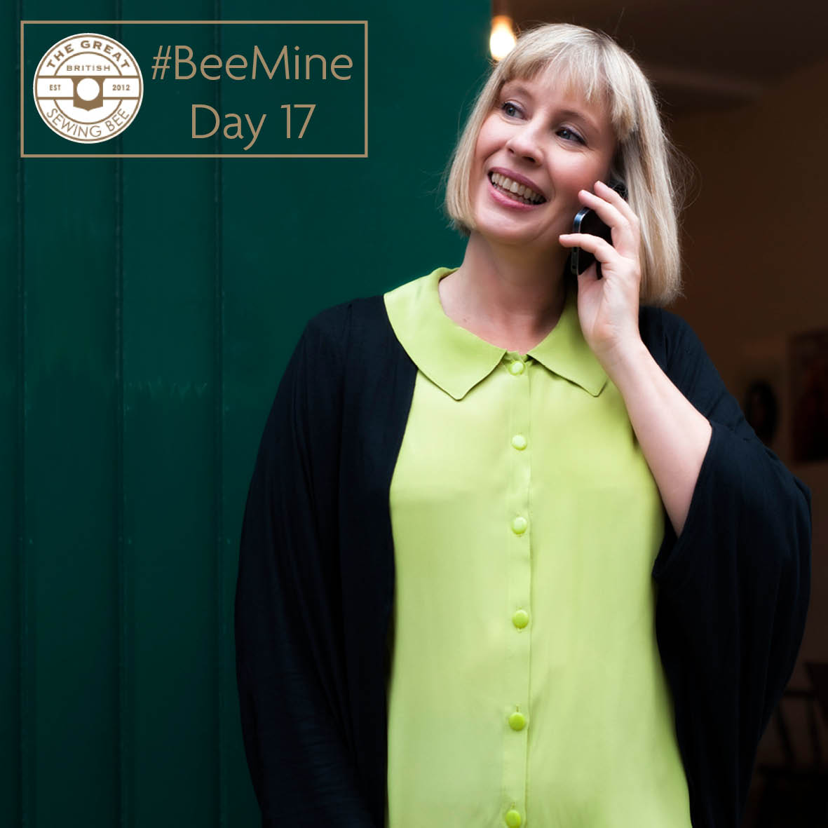 BeeMine Day17- sleeveless blouse