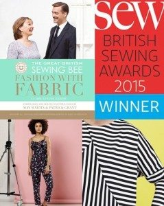 Fashion with fabric- best sewing book 2015