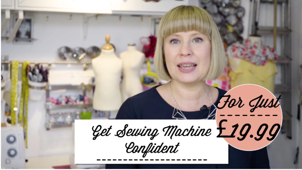 Get Sewing Machine Confident