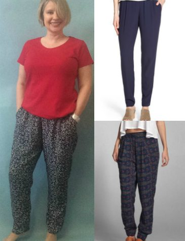 Beginners dressmaking #2-Drapey trousers