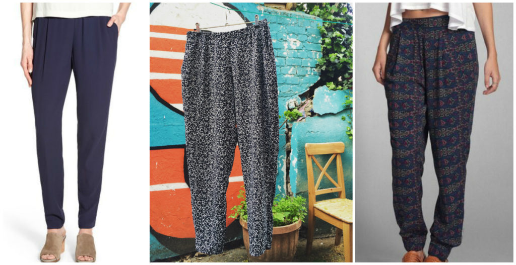 Drapey Summer Trousers